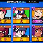 Who was your first brawler to rank 20 or who do you want to get to rank 20?