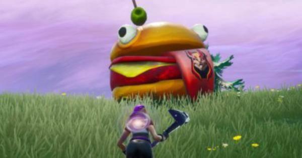 Fortnite: Battle Royale - Drift-Painted Durrr Burger Head, Dinosaur, & Stone Head Statue Location Guide image 1
