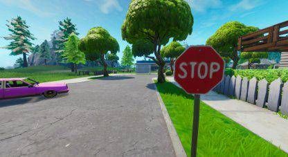 Fortnite: Battle Royale - Road Trip Challenge Stop Sign Locations Guide image 4