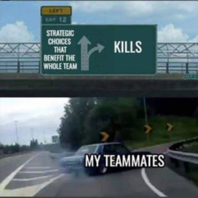 Rainbow Six: Memes - Solo queue be like that... Get the squad go on lfg, stop get some help. xD image 1