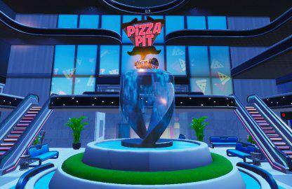 Fortnite: Battle Royale - Spray & Pray Junkyard Crane, Fountains, & Vending Machine Location Guide image 11