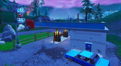 Fortnite: Battle Royale - Spray & Pray Gas Station Location Challenge Guides image 13
