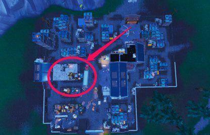 Fortnite: Battle Royale - Spray & Pray Junkyard Crane, Fountains, & Vending Machine Location Guide image 15