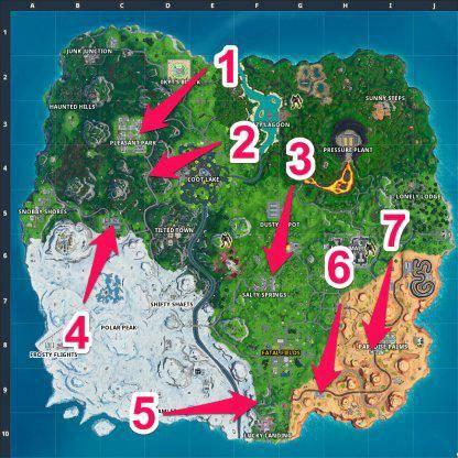 Fortnite: Battle Royale - Spray & Pray Gas Station Location Challenge Guides image 9