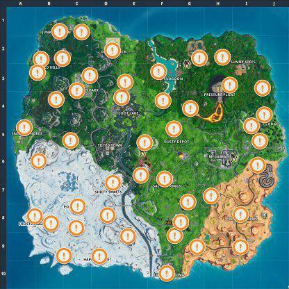 Fortnite: Battle Royale - Spray & Pray Junkyard Crane, Fountains, & Vending Machine Location Guide image 19