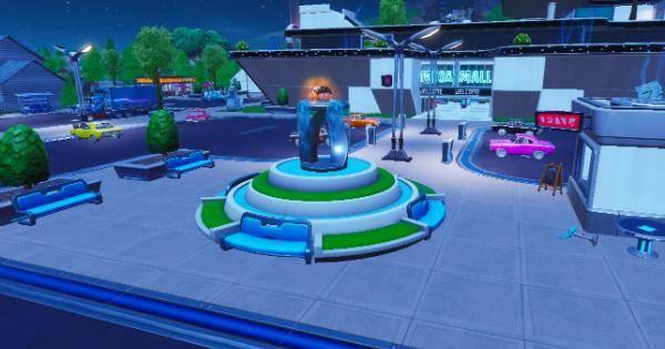 Fortnite: Battle Royale - Spray & Pray Junkyard Crane, Fountains, & Vending Machine Location Guide image 1