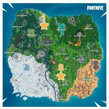 Fortnite: Battle Royale - Season X Week 1 Battle Star Location Guide image 14