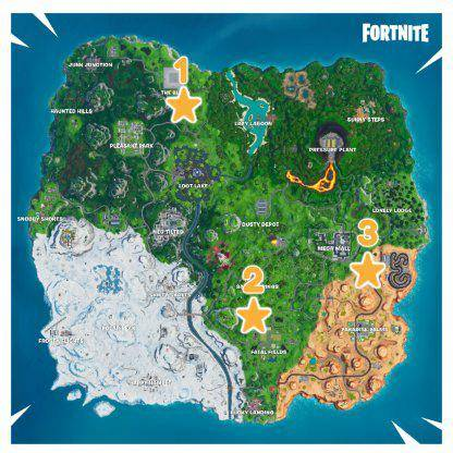 Fortnite: Battle Royale - Season X Week 2 Battle Star Location Guide image 13