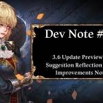 Dev Note #80: 3.6 Update Preview #1: Suggestion Reflection / QoL Improvements Notice