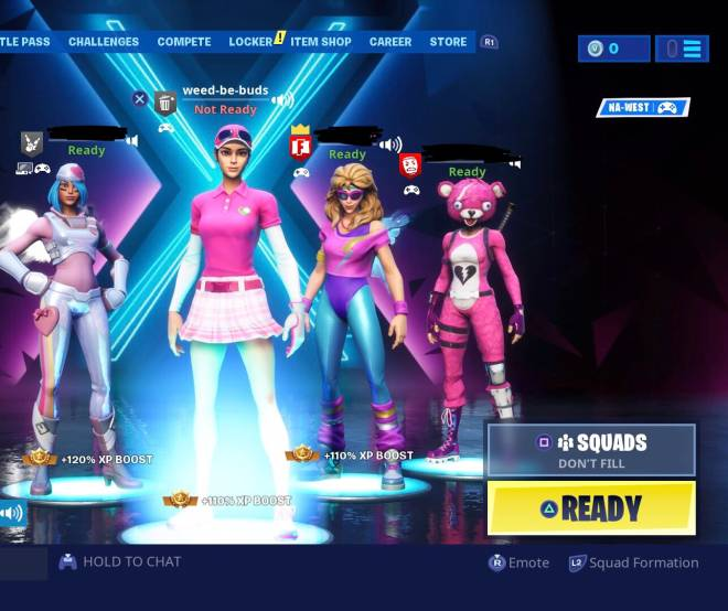 Fortnite: Memes - On Wednesday's we wear pink.  image 1