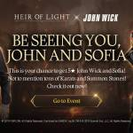 [Event] Be seeing you, John & Sofia Event