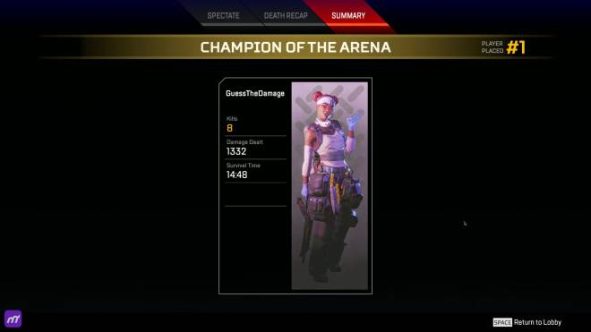 Apex Legends: General - WINNERS! Guess The Damage: Apex Legends image 3