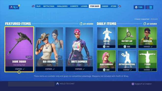 Fortnite: Battle Royale - 09/10/2019 Item Shop  image 2