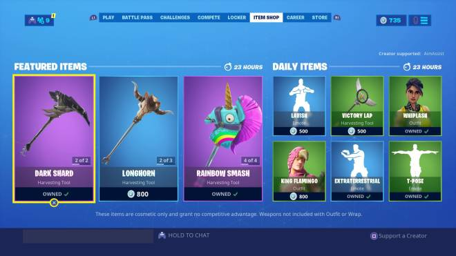 Fortnite: Battle Royale - 09/10/2019 Item Shop  image 3