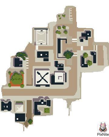 Fortnite: Battle Royale - Titled map image 2