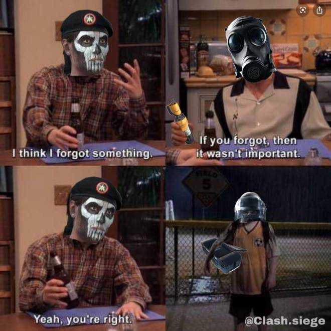 Rainbow Six: Memes - Every Cav main ever... 😋 image 1