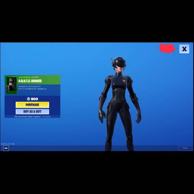 Fortnite: Battle Royale - The BRUTE Gunner is lookin nice image 2