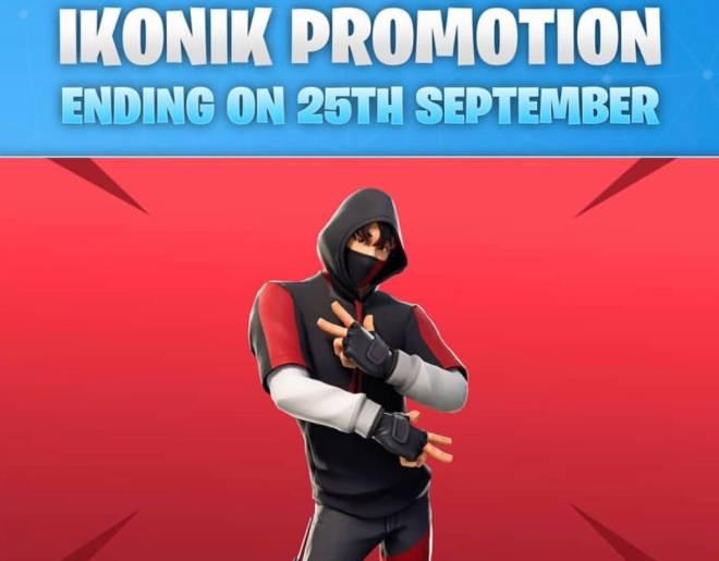Fortnite: Battle Royale - Ikonik 💀 September 25th image 2