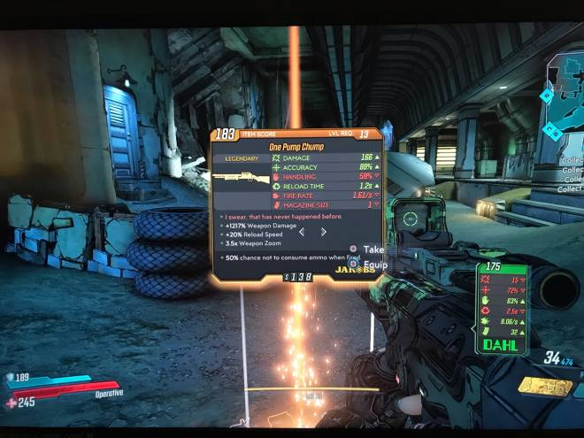Borderlands: General - How to Obtain One-Pump Chump image 197