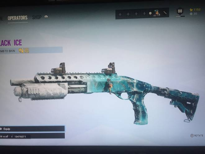 Rainbow Six: General - Out of any primary gun I can get for black ice, I get the m870.... fml image 1