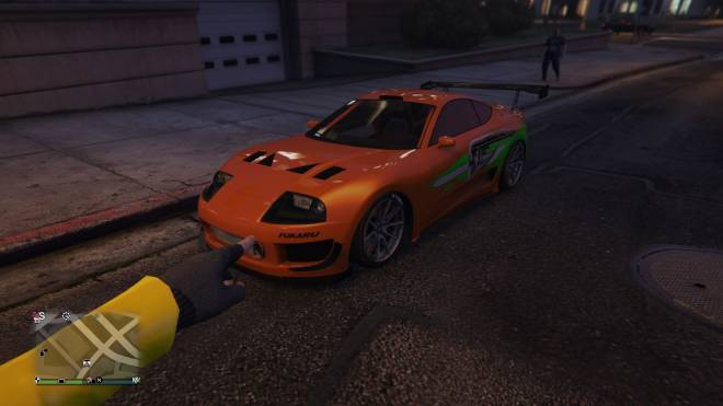 GTA: General - I found Paul Walker's Supra image 1