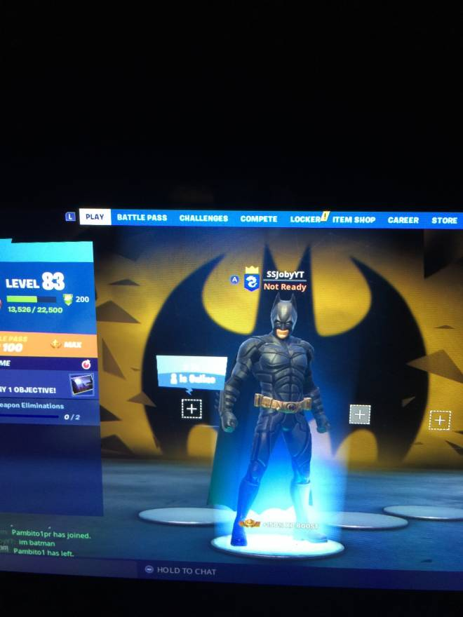 Fortnite: Promotions - IM BATMAN image 1