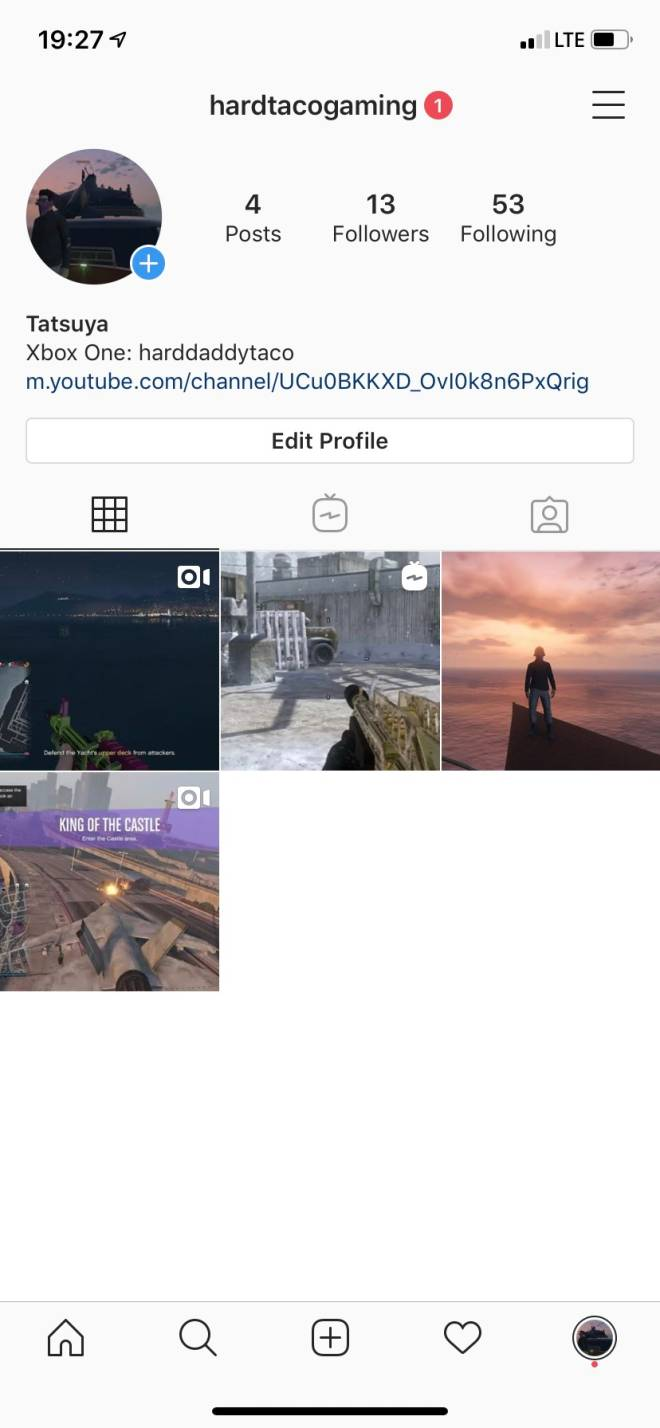 GTA: Promotions - Hey guys made a new ig account for my game play if you guys could go follow that'd be awesome  image 1