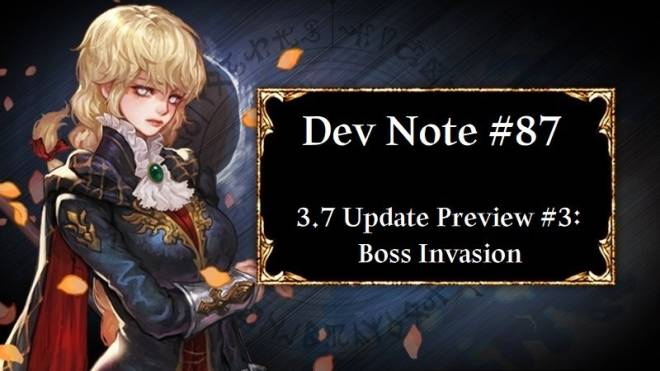 HEIR OF LIGHT: Dev Notes - Dev Note #87: 3.7 Update Preview #3: Boss Invasion image 1