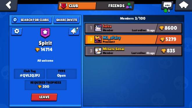 Brawl Stars: Club Recruiting - LOOKING FOR Players image 1