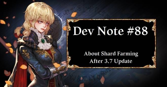 HEIR OF LIGHT: Dev Notes - Dev Note #88: About Shard Farming After 3.7 Update image 1