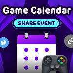 Moot Game Calendar Event!