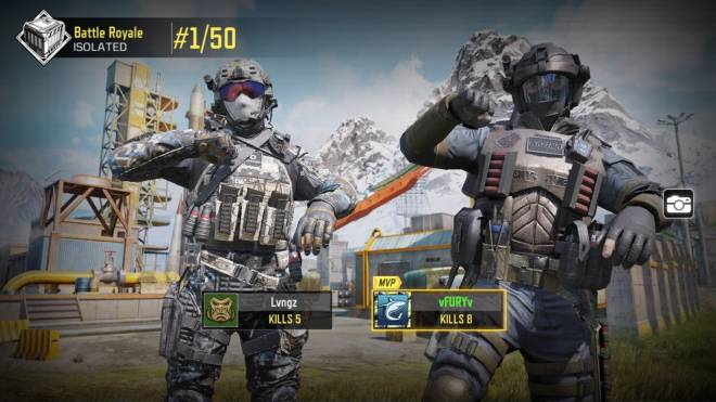 Call of Duty: General - First Battle Royale Match on Cod Mobile  image 2