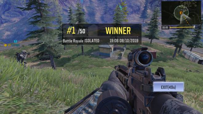 Call of Duty: General - First Battle Royale Match on Cod Mobile  image 1