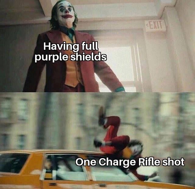 Apex Legends: Memes - Charge Rifle OP? image 1