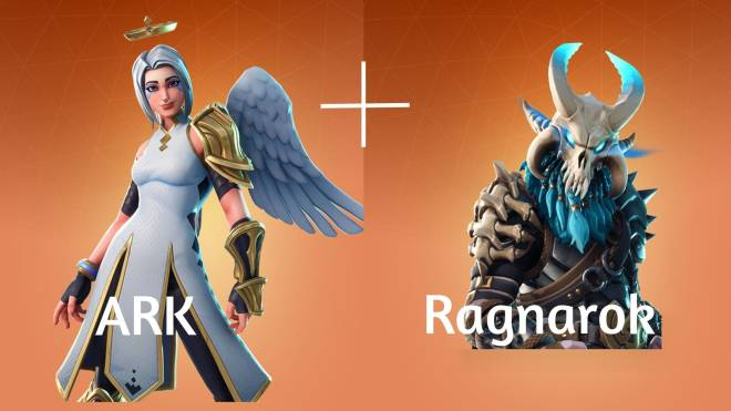 ARK: Survival Evolved: Memes - fortnite skins turn into. ark Ragnarok map  image 1