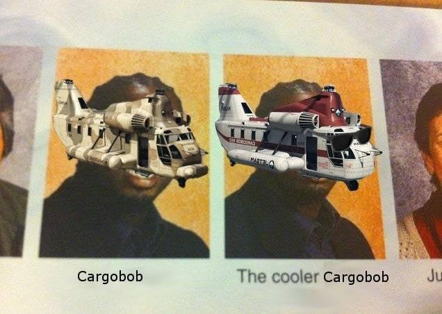 GTA: Memes - Cargobob image 1