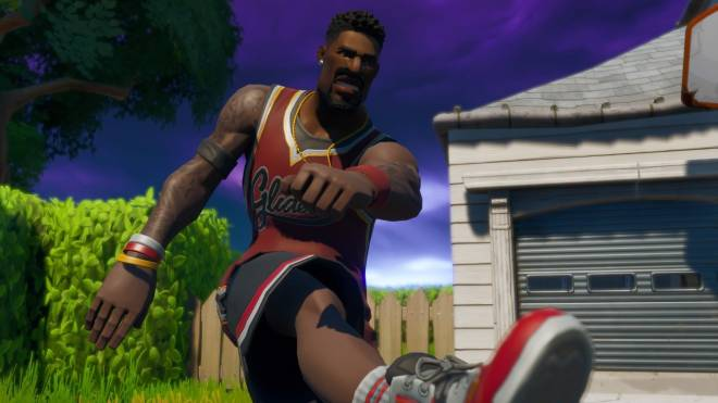 Fortnite: Memes - Yo Nibba I be Ballin 🏀 | Jumpshot Showcase| #SkinShowcase #Fortnite image 4