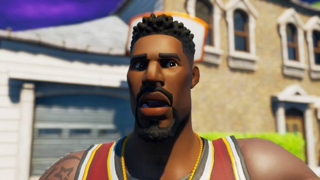 Fortnite: Memes - Yo Nibba I be Ballin 🏀 | Jumpshot Showcase| #SkinShowcase #Fortnite image 1