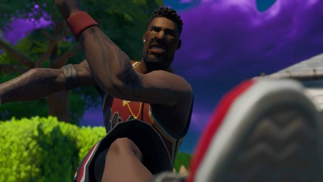 Fortnite: Memes - Yo Nibba I be Ballin 🏀 | Jumpshot Showcase| #SkinShowcase #Fortnite image 3