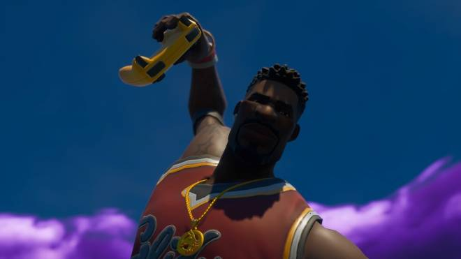 Fortnite: Memes - Yo Nibba I be Ballin 🏀 | Jumpshot Showcase| #SkinShowcase #Fortnite image 5