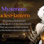 [Event] Mysterious Jack-o'lantern Event (10/22 ~ 11/11 CDT)