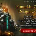 [CM Event] Pumpkin Carving Design Contest (10/22 ~ 10/29 CDT)