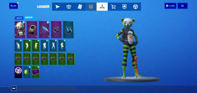 Fortnite: Battle Royale - Spoopy combo image 2