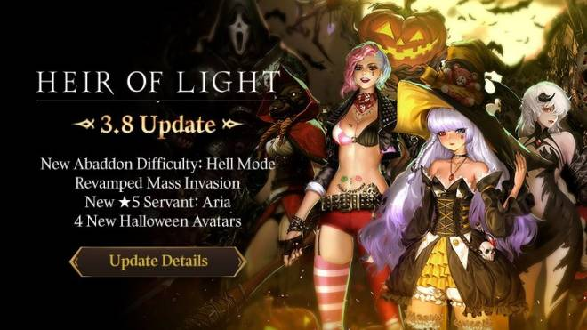 HEIR OF LIGHT: Update Preview & Patch Notes - [Notice] v3.8 Update Patch Notes image 1