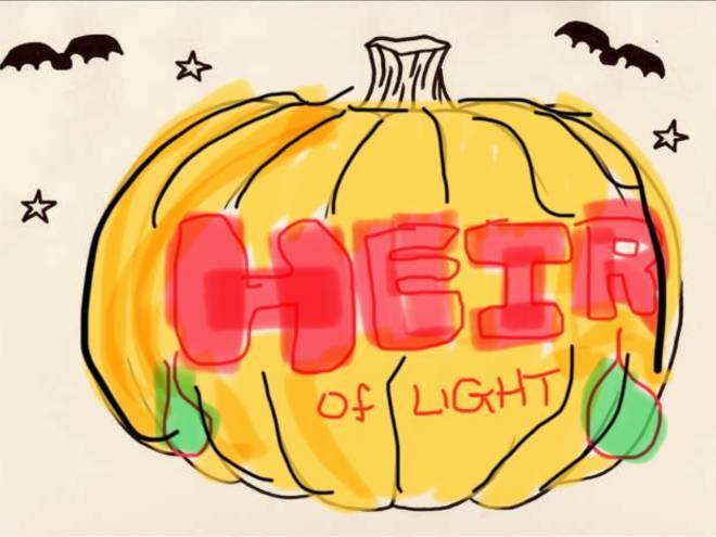 HEIR OF LIGHT: Pumpkin Carving Design Contest - Pumpkins contest image 1