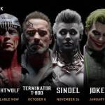 DLC Characters On MK11 Rosters