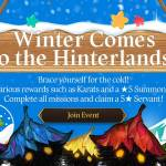 [Event] Winter Comes to the Hinterlands Event (11/5 ~ 12/2 CST)