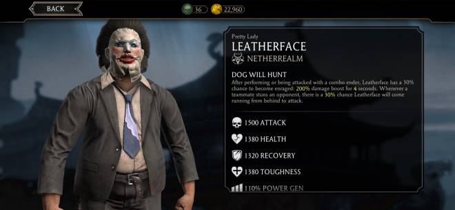 Dead by Daylight: Memes - Where's this skin for leather face  image 1