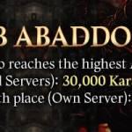 [Event] Climb Abaddon Tower! (11/7 ~ 11/21 CST)