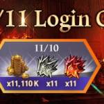 [Event] 11/11 Log-in Gift Event (11/8 ~ 11/12 CST)